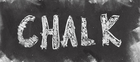 Chalkboard: 15 High Resolution Photoshop Brushes