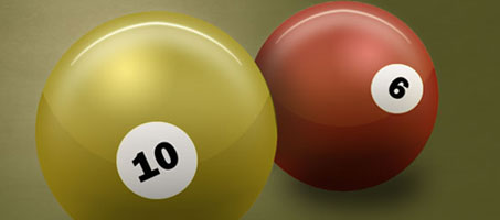Create a Shiny 3D Snooker Ball in Photoshop