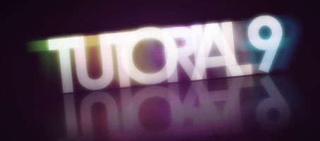 Simple Colourful Glowing Text Effect in Photoshop