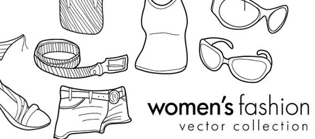 Free Vector Doodles – Women's Clothing & Fashion