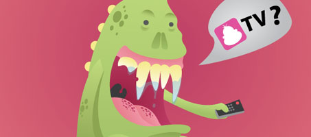 Draw a very happy monster illustration Using Illustrator
