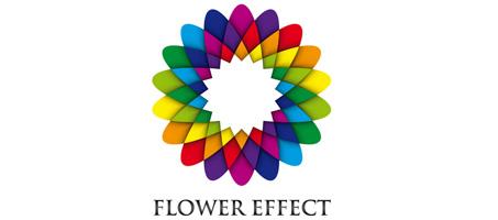Reader Tut:Geometric Flower Effect Logo in Illustrator