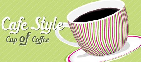 Cafe Style Coffee Art Using Adobe Illustrator