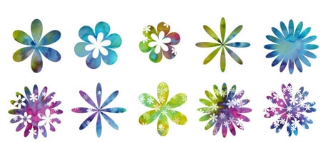 An Awesome Photoshop Flower Brush Petal Set