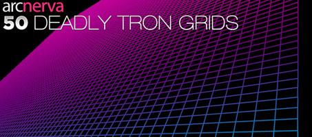 50 Deadly Trendy Colourful Tron Grids – Arcnerva