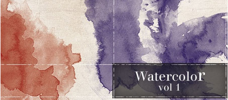 High Quality Photoshop Watercolour Brush Set Vol 1
