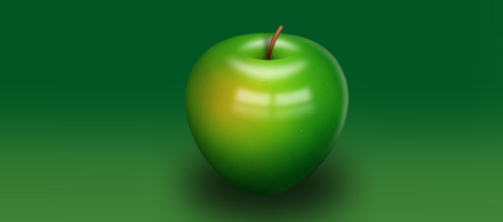 How to Create a Delicious Green Apple Illustration
