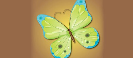 How To Create A Very Attractive Vector Butterfly
