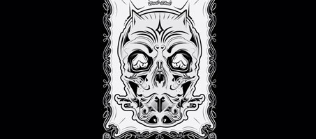 Freebie: A Very Scary Vector Devil-Skull Illustration