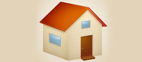 How to Create a 3D House Icon with Photoshop