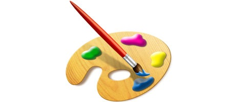 Creating a Set of Digital Painting Icons – Paint Brush Icon