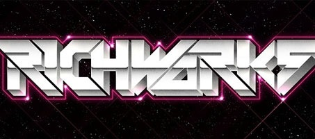 Create a Stunning Retro Futuristic Typography Effect