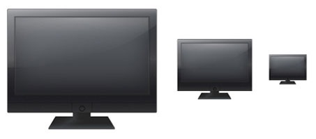 Create A Great Illustration LCD Monitor Icon