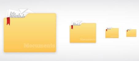 Create A Folder Document Icon Using Illustrator