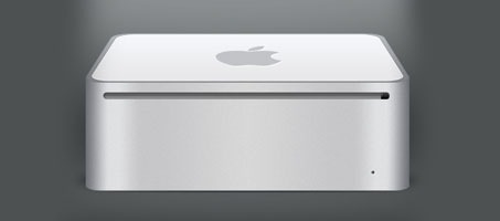 Create an Apple Mac Mini Computer Using Photoshop