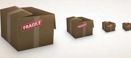 How to Create a Simple Cardboard Box Icon