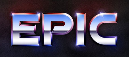 Recreate the Epic 80′s Metal Text Effect in Photoshop