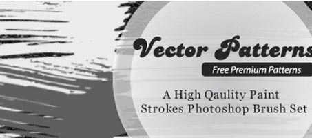 High Quality Paint Strokes Photoshop Brush Set