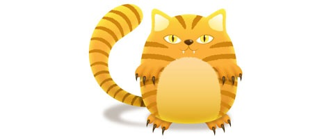 Create a Tiger Design a Striped Cat using Illustrator