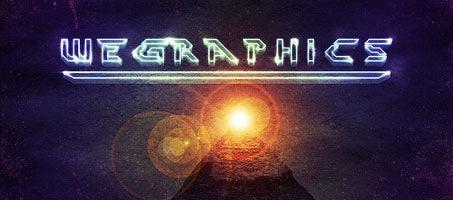 Create a retro sci-fi movie design poster in Photoshop
