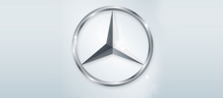 How To Create The Mercedes Car Logo Design