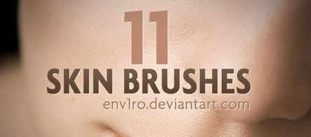 Awesome Photoshop Skin Retouching Design brushes