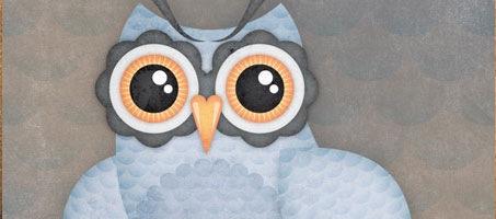 Create an Elegant Patterned Vector Owl in Illustrator