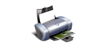 How to Make a Detailed Printer Icon Using Illustrator