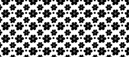A Free High Quality Seamless Vector Petal Pattern