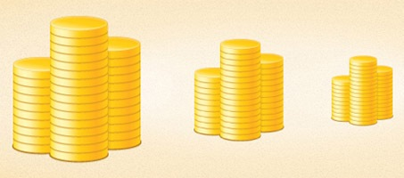 Create A Beautiful Stack Of Gold Coins Using Illustrator