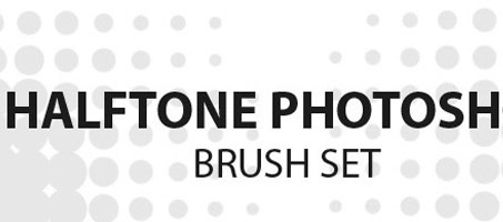 An Amazing Free Halftone Photoshop Brush Set