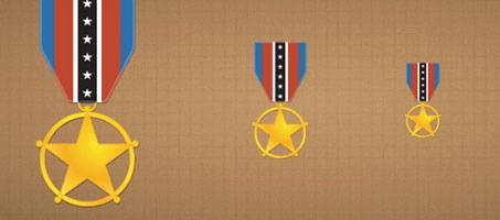 Quick Tip: Create a Nice Award Medal Icon