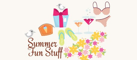 High Quality Summer Vector Icons and Fun Stuff