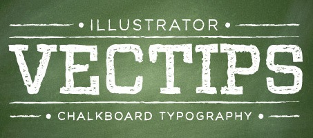 Create An Awesome Chalkboard Type Treatment