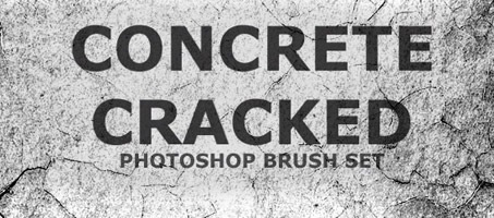 High Resolution Concrete Free Photoshop Brush Set