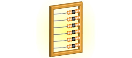 How to Illustrate an Abacus Icon in illustrator