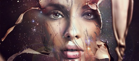 Design a Futuristic Photoshop Abstract Portrait