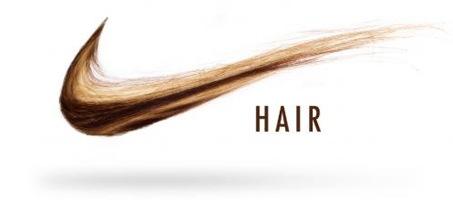 Nike Hair Illustration Using Simply Photoshop