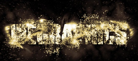 Create an Exploding Light Text Effect in Photoshop