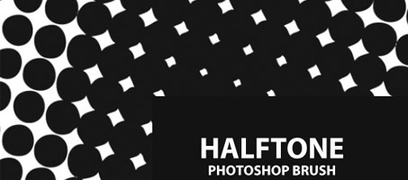 A Free Halftone Photoshop Brush Set