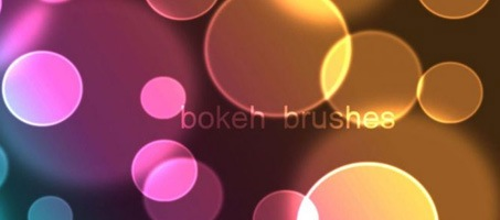 A Free Photoshop Bokeh Design Brushes