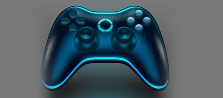 Create a 3D gamepad icon with Photoshop