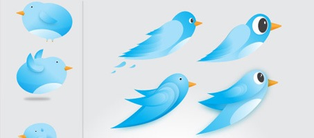 Free Twitter Birds Icons Vector Worth Downloading
