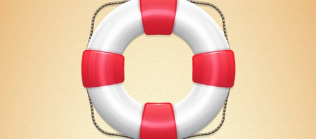 Create a Detailed Lifebuoy Illustration