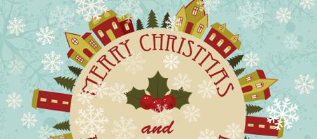 How to Create An Illustrative Winter Seasonal Greeting Card