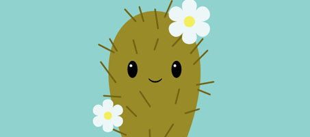 How to Create a Cute Cactus Character