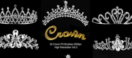 20 Crown PS Brushes