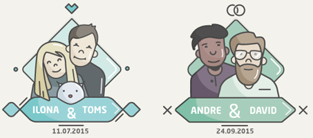 How to Create a Flat Design Wedding Icon
