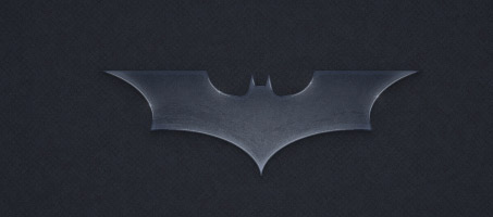 Create the Batman Dark Knight Logo